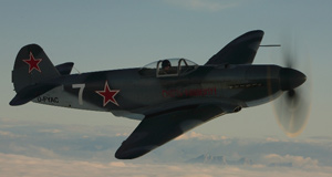 YAK 3 Flight for fun
